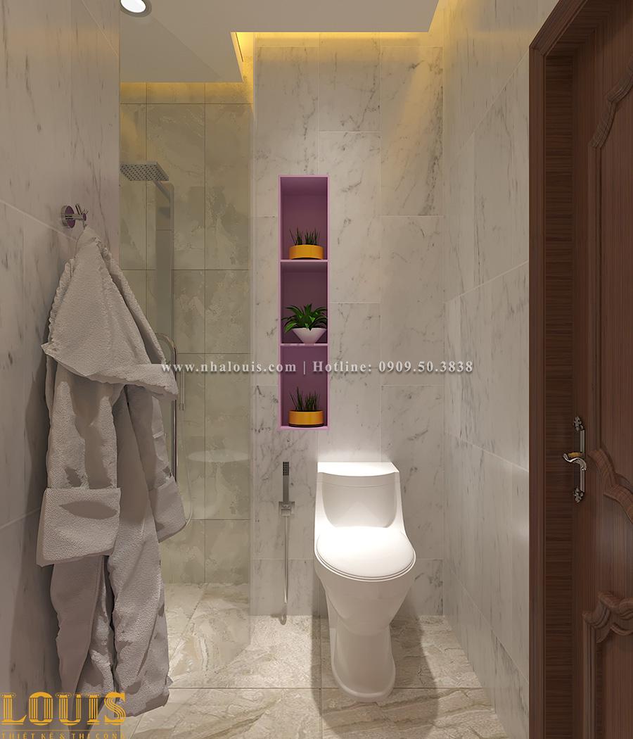 Phòng tắm và WC Mẫu nhà ống tân cổ điển 4 tầng tại Gò Vấp đẹp sang chảnh - 51