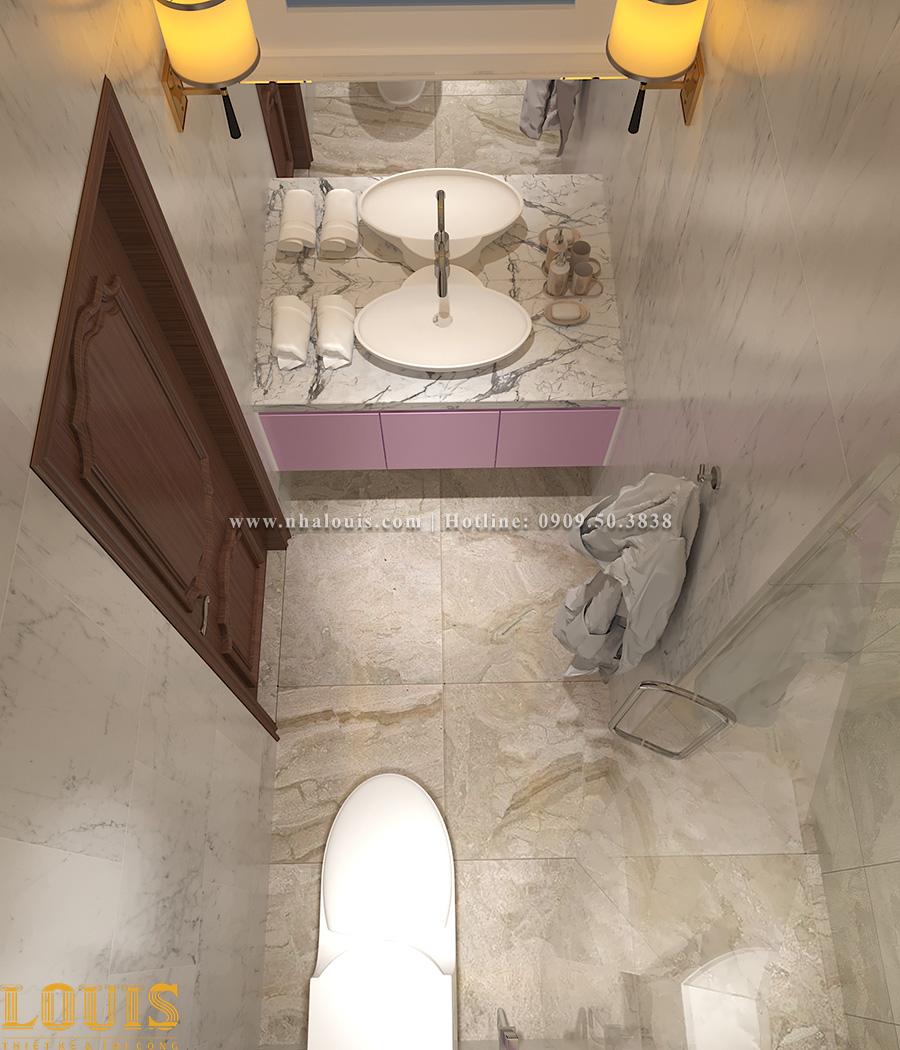 Phòng tắm và WC Mẫu nhà ống tân cổ điển 4 tầng tại Gò Vấp đẹp sang chảnh - 52