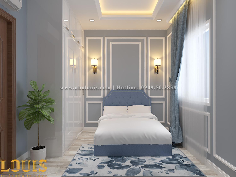 Phòng ngủ Mẫu nhà ống tân cổ điển 4 tầng tại Gò Vấp đẹp sang chảnh - 53