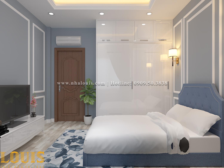 Phòng ngủ Mẫu nhà ống tân cổ điển 4 tầng tại Gò Vấp đẹp sang chảnh - 55