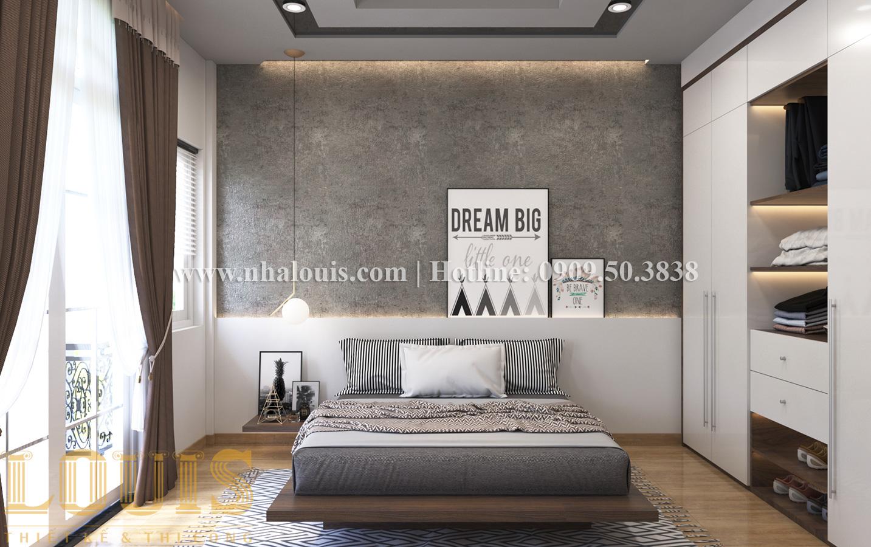 Phòng ngủ Mẫu nhà ống tân cổ điển 4 tầng tại Quận 6 đẹp sang chảnh - 20