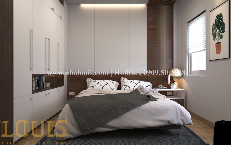 Phòng ngủ Mẫu nhà ống tân cổ điển 4 tầng tại Quận 6 đẹp sang chảnh - 23