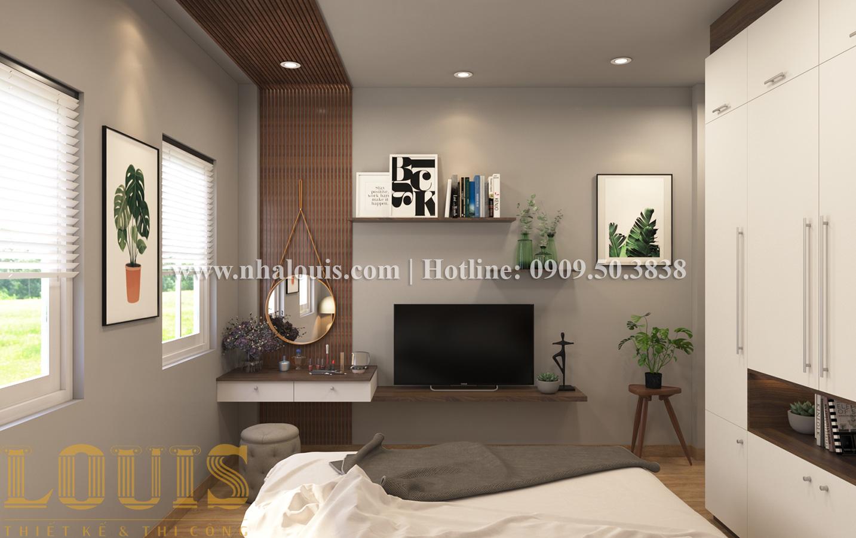 Phòng ngủ Mẫu nhà ống tân cổ điển 4 tầng tại Quận 6 đẹp sang chảnh - 24