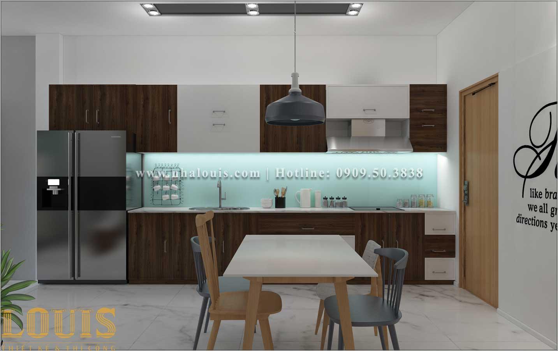 Bếp và phòng ăn Mẫu nhà ống 3 tầng đẹp tại Long An thiết kế theo xu hướng mới - 07