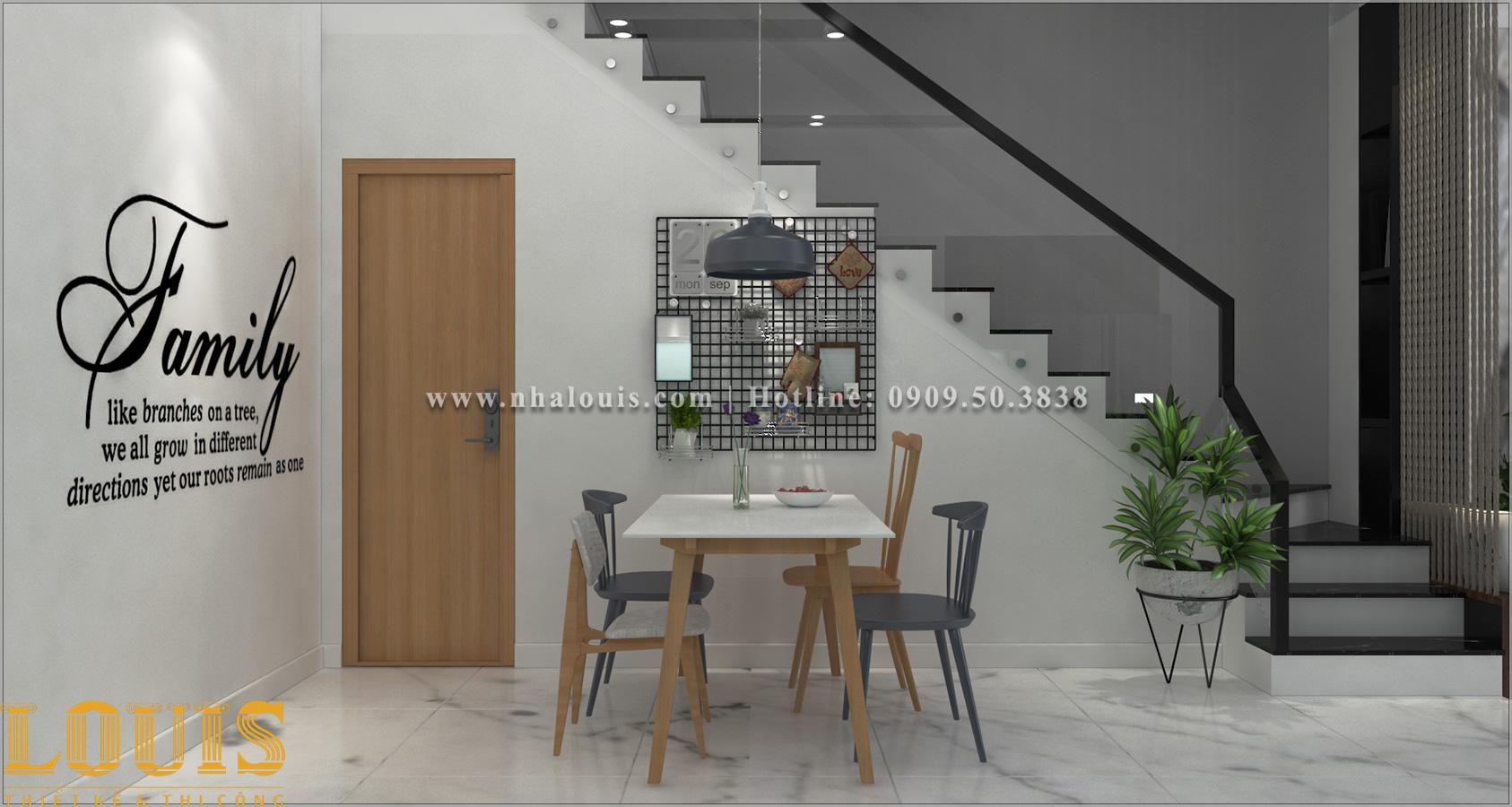 Bếp và phòng ăn Mẫu nhà ống 3 tầng đẹp tại Long An thiết kế theo xu hướng mới - 08