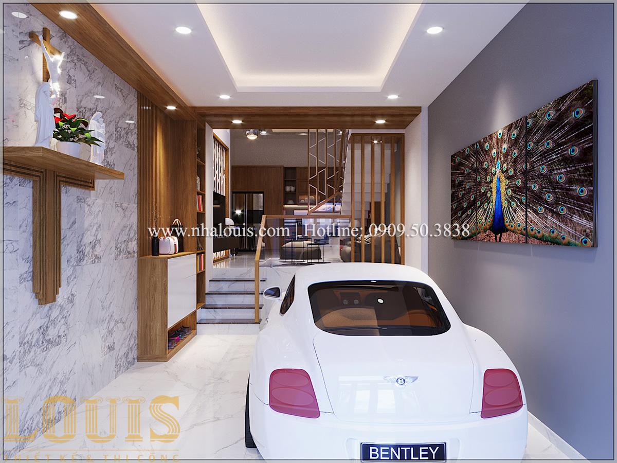 Gara Mẫu thiết kế nhà phố 5 tầng tại Tân Bình với không gian thiên nhiên xanh mát - 04