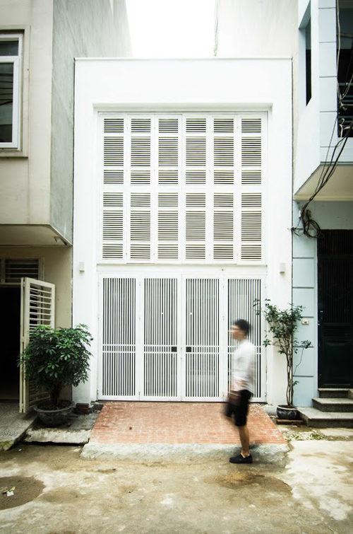 Nhà phố trên nền đất hẹp thiết kế sao cho đẹp?