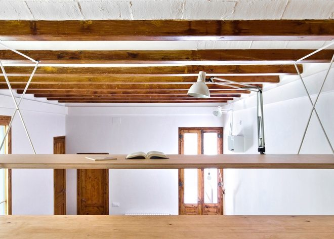 Tạo điểm nhấn nội thất cho căn hộ bằng chất liệu gỗ