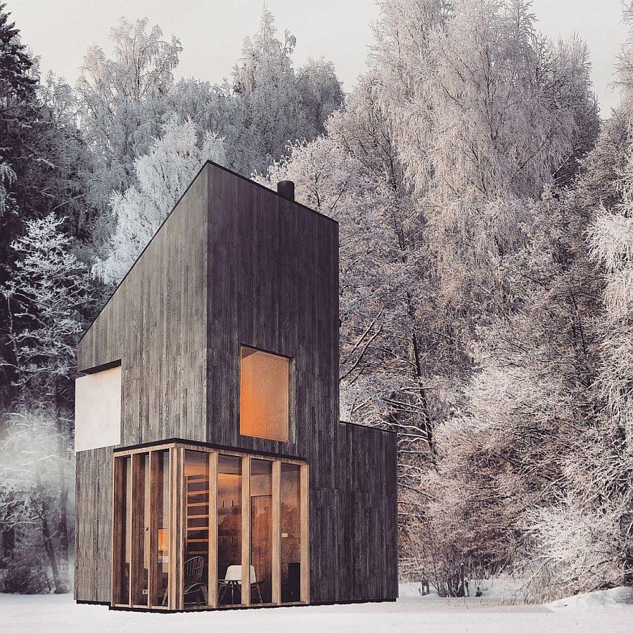 Tham khảo ý tưởng xây cabin gỗ làm chốn nghỉ ngơi riêng tư