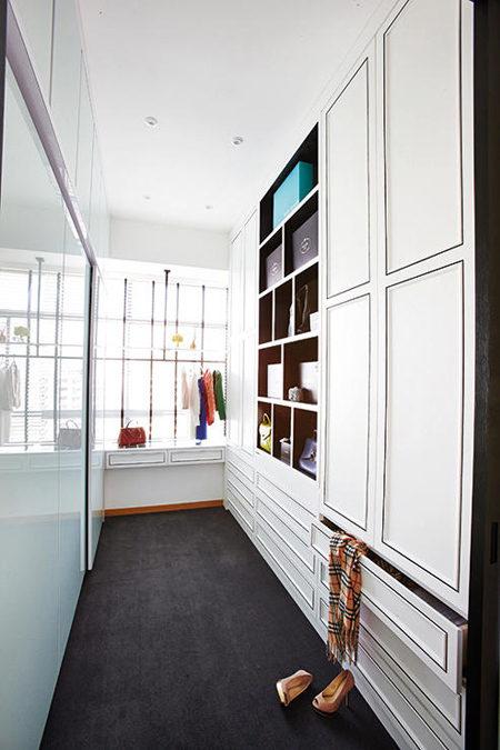 Nội thất căn hộ kiểu Pháp theo phong cách hiện đại