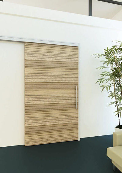 Sử dụng cửa trượt để tiết kiệm diện tích phòng kích thước nhỏ