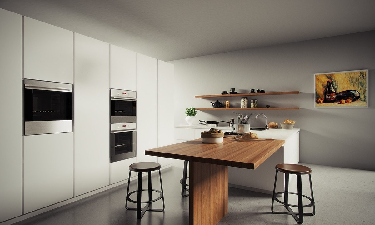 Tham khảo 20 mẫu thiết kế nội thất phòng bếp hiện đại siêu đẹp