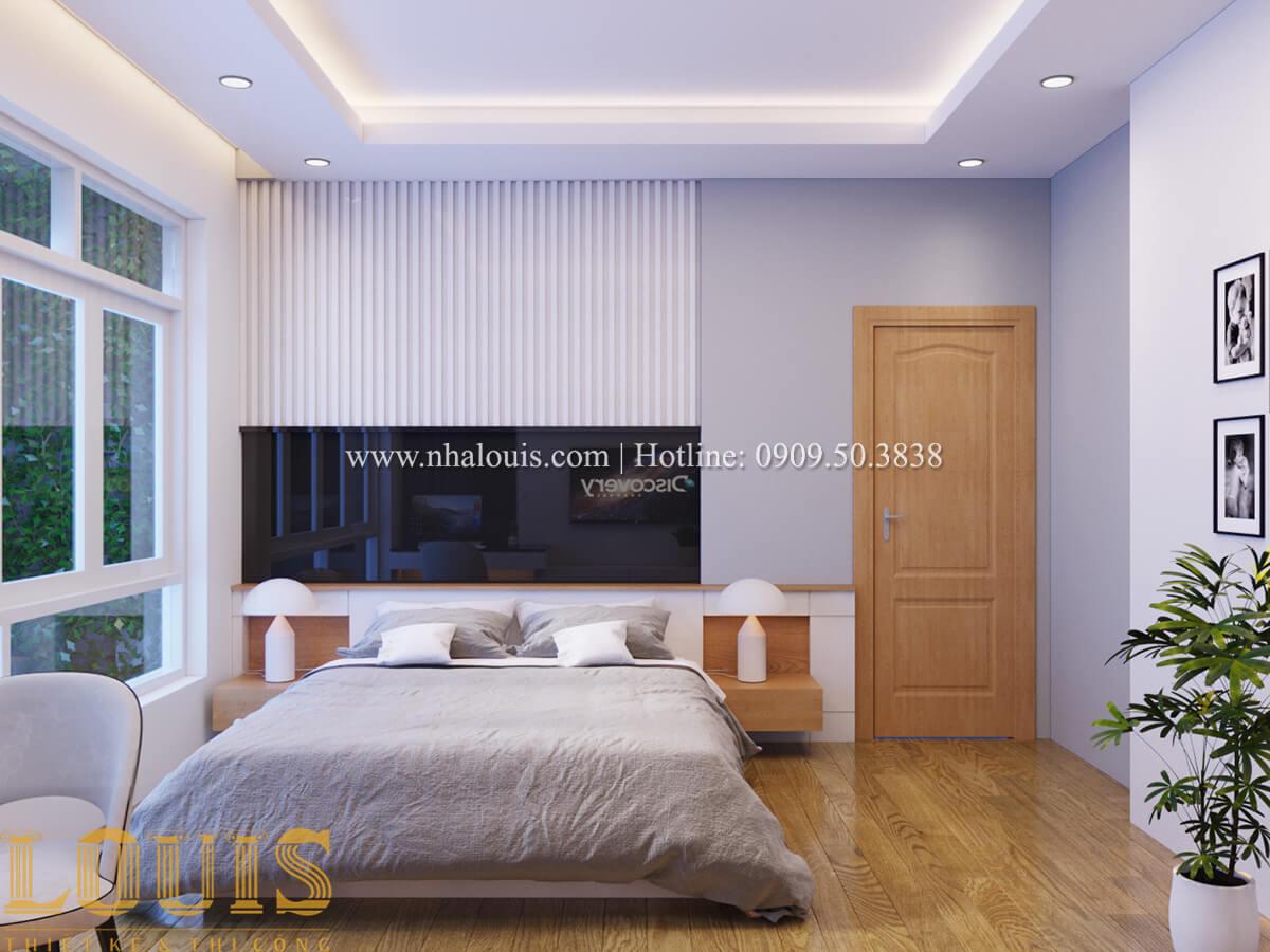 Phòng ngủ Mẫu nhà phố bán cổ điển với mái Thái độc đáo tại Tân Bình - 20
