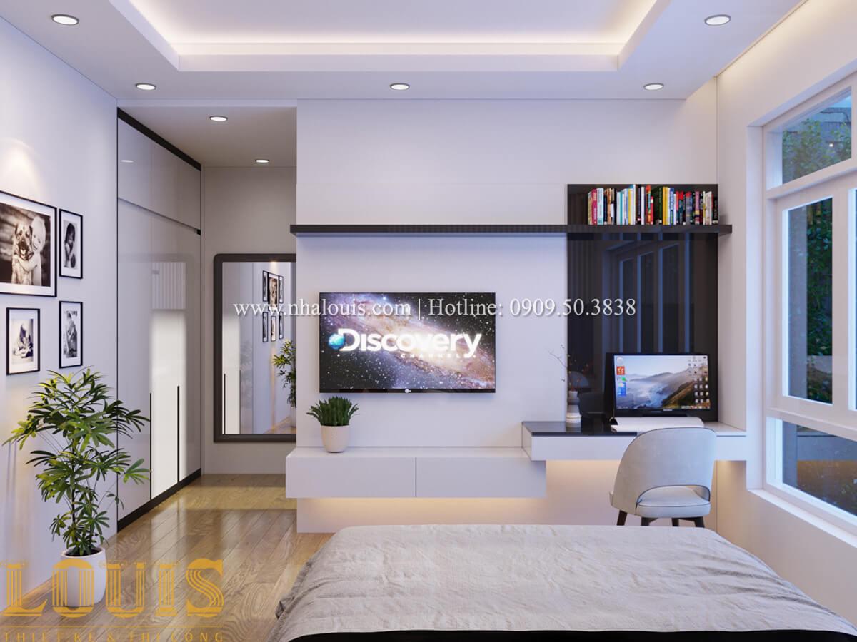Phòng ngủ Mẫu nhà phố bán cổ điển với mái Thái độc đáo tại Tân Bình - 21