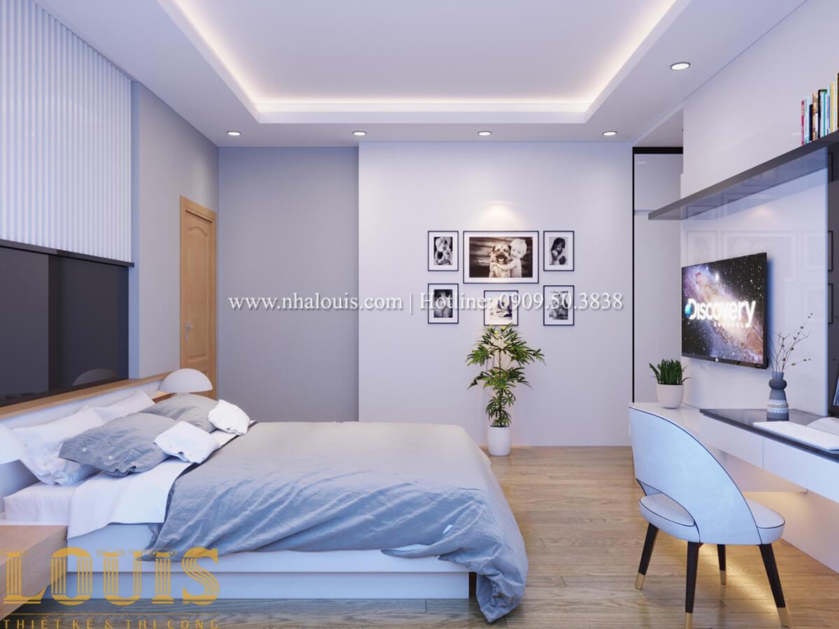 Phòng ngủ Mẫu nhà phố bán cổ điển với mái Thái độc đáo tại Tân Bình - 22