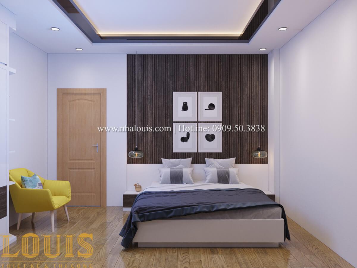 Phòng ngủ Mẫu nhà phố bán cổ điển với mái Thái độc đáo tại Tân Bình - 24