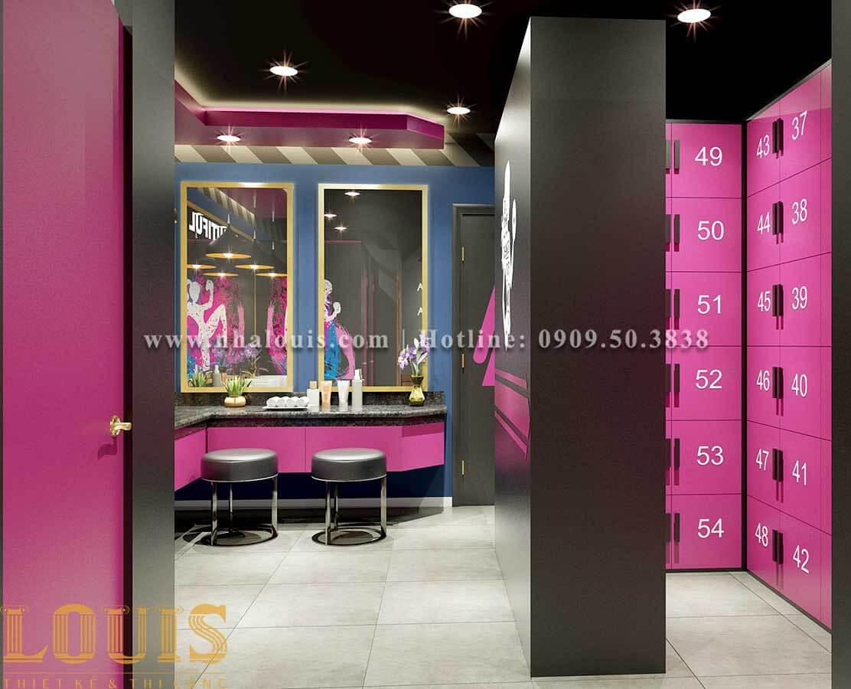 WC + Phòng tắm nữ Mẫu thiết kế phòng gym chuẩn hiện đại tại Quận 9 - 15