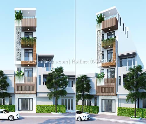 Thiết kế cải tạo nhà 6 tầng đẹp không ngờ tại Quận 6