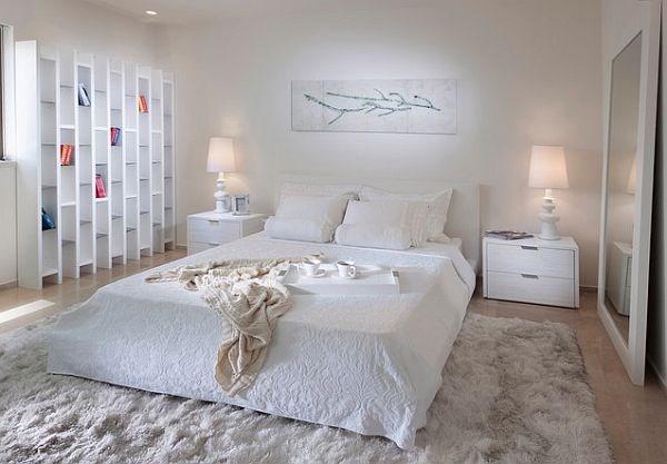 Cách chọn thảm lót sàn phòng ngủ biệt thự hiện đại 2 tầng đẹp ấn tượng