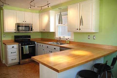 Gợi ý những mẫu mặt bếp đẹp cho mẫu nhà tân cổ điển 2 tầng đẹp