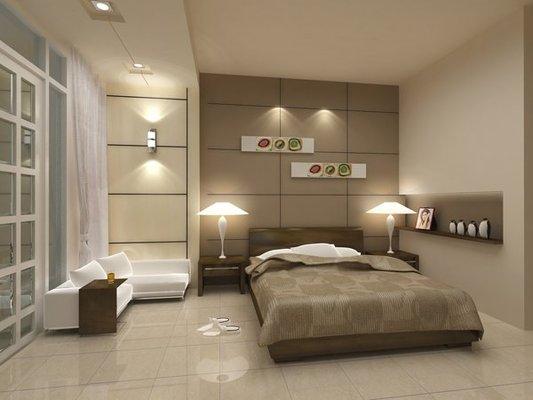 Lưu ý trang trí phòng ngủ khách cho mẫu nhà phố tân cổ điển