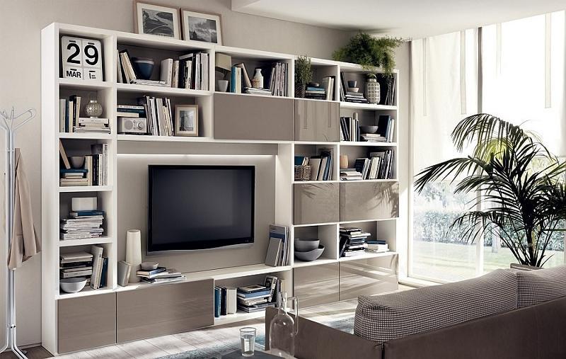 Top 4 kệ tivi cho phòng khách mẫu thiết kế nhà ngang 6m sang trọng