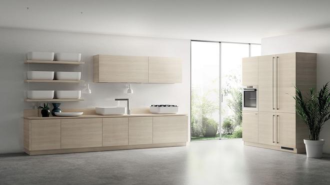 Những lưu ý khi thiết kế nhà bếp mẫu biệt thự sân vườn đẹp theo phong cách tối giản