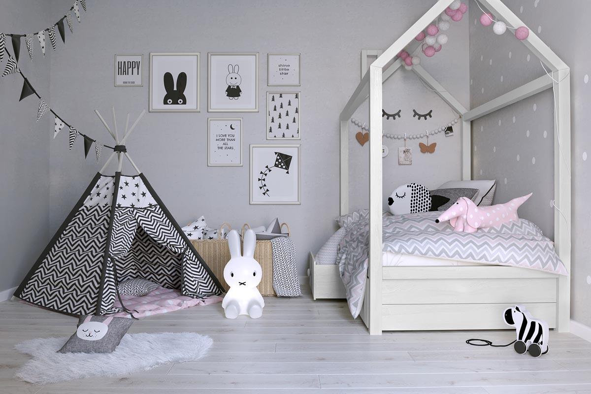 Bật mí 5 cách thiết kế phòng ngủ cho bé gái đẹp mê ly 02