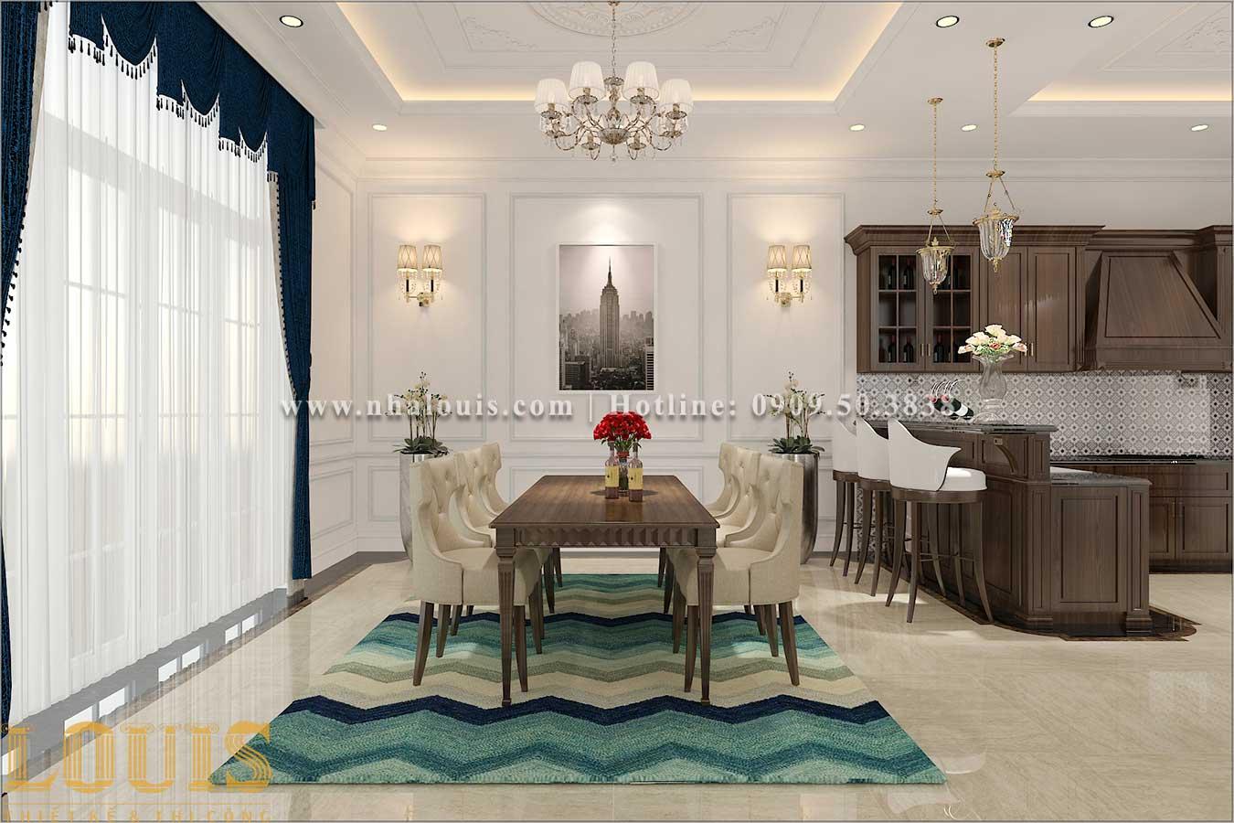 3 cách trang trí phòng ăn biệt thự phố tân cổ điển luôn bắt mắt