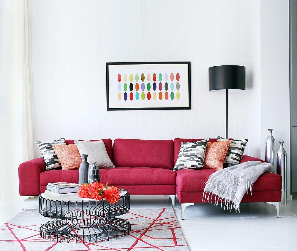 Mê mẩn với 6 kiểu tạo điểm nhấn cho phòng khách bằng sofa đẹp khỏi chê 03