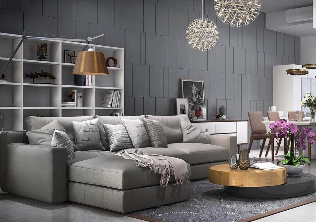 Mê mẩn với 6 kiểu tạo điểm nhấn cho phòng khách bằng sofa đẹp khỏi chê 05