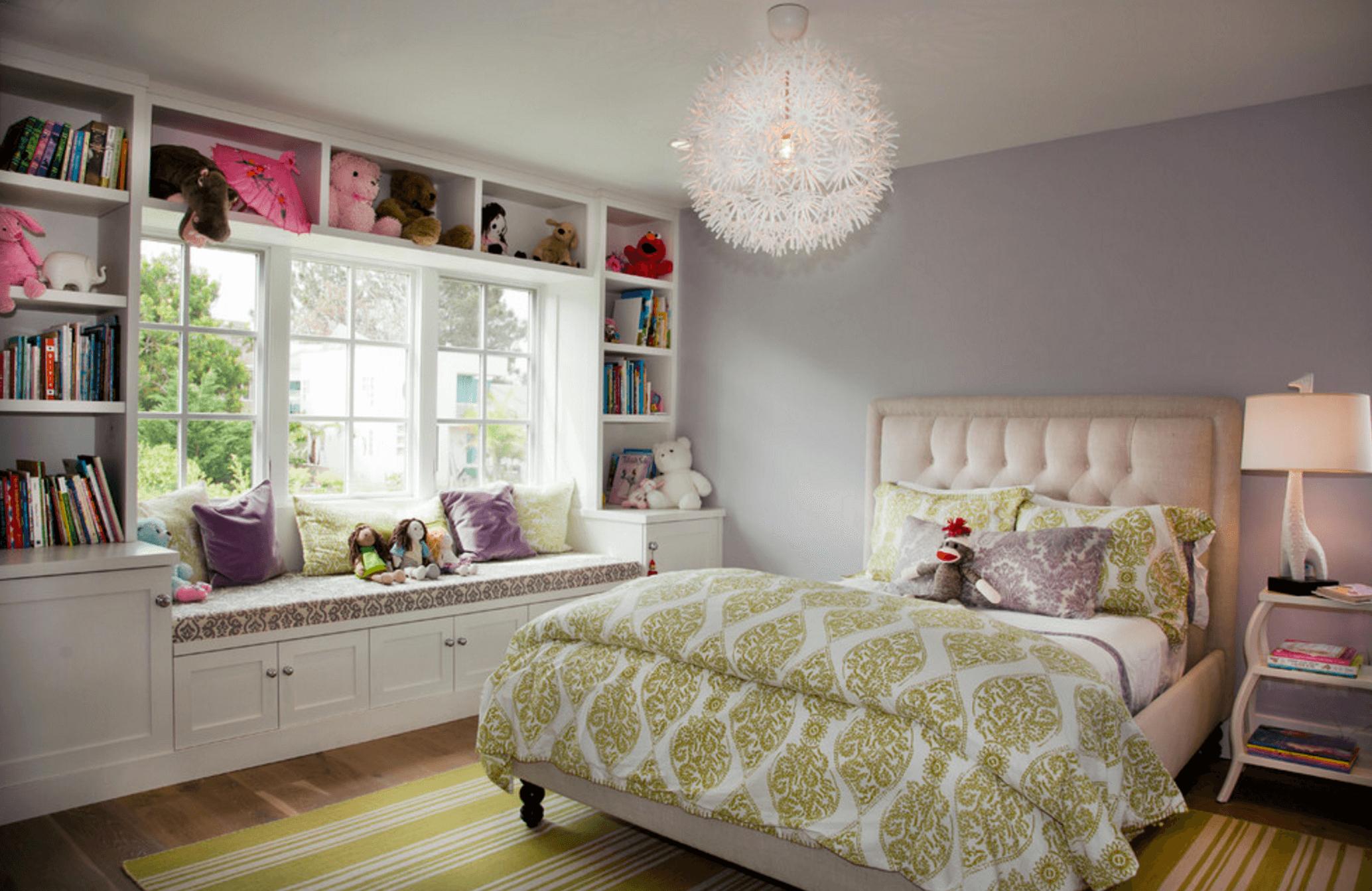 Muôn vàn kiểu trang trí phòng ngủ dễ thương cho những cô nàng tuổi teen