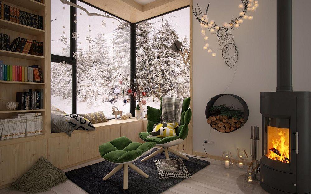 Những góc thư giãn trong nhà đẹp đến mức phát cuồng 04
