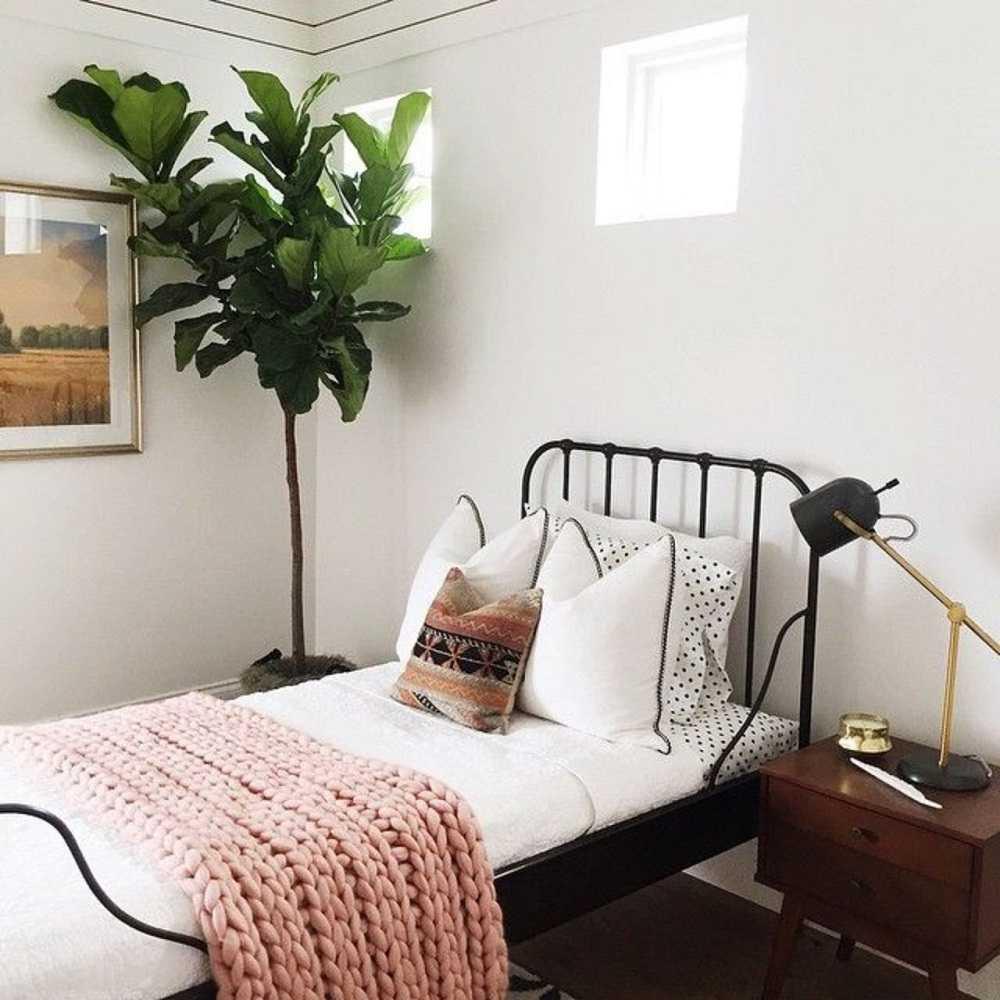 Thiết kế phòng ngủ đơn giản theo phong cách Vintage hoài cổ 02
