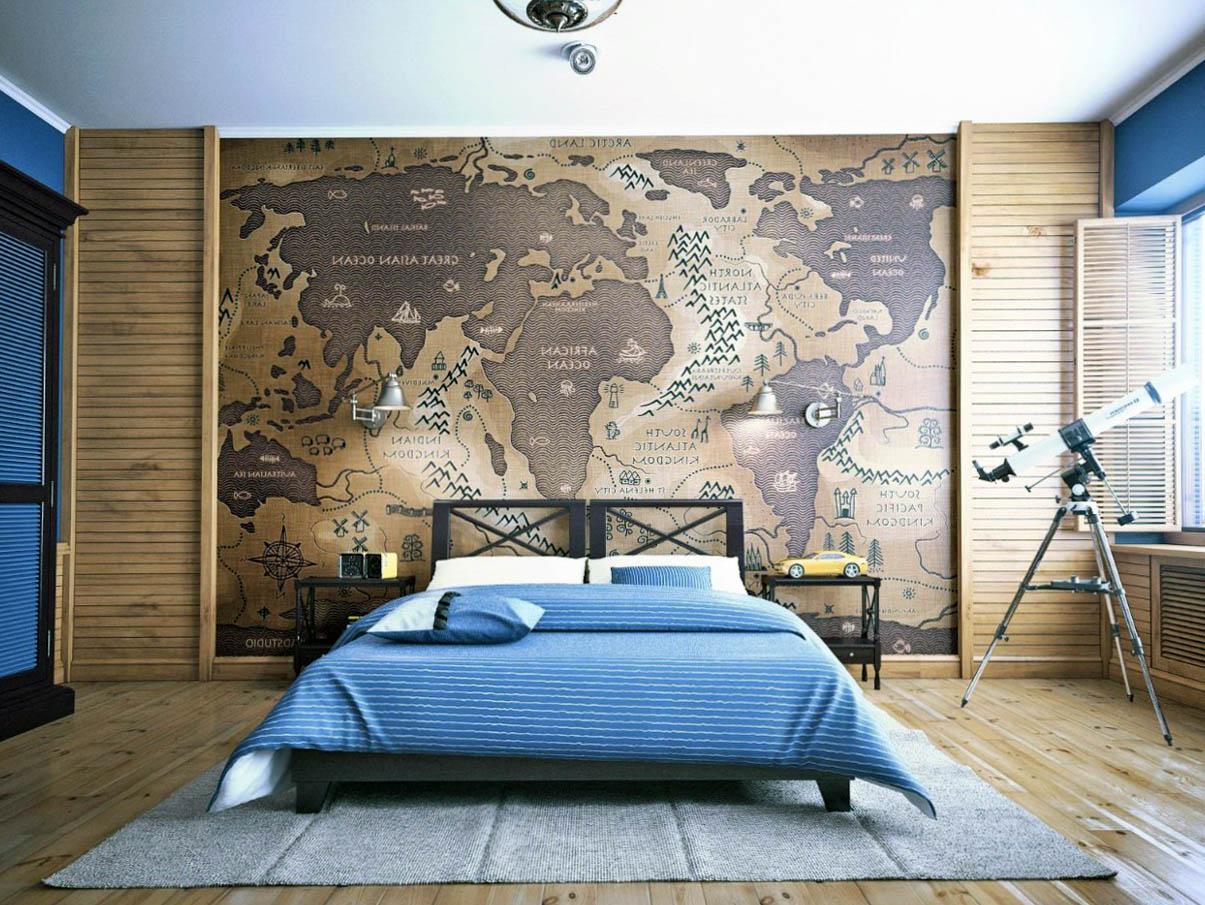 Thiết kế phòng ngủ đơn giản theo phong cách Vintage hoài cổ 04