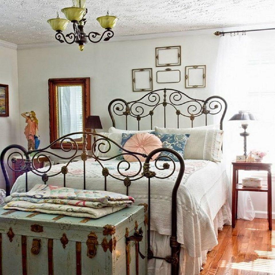 Thiết kế phòng ngủ đơn giản theo phong cách Vintage hoài cổ 05
