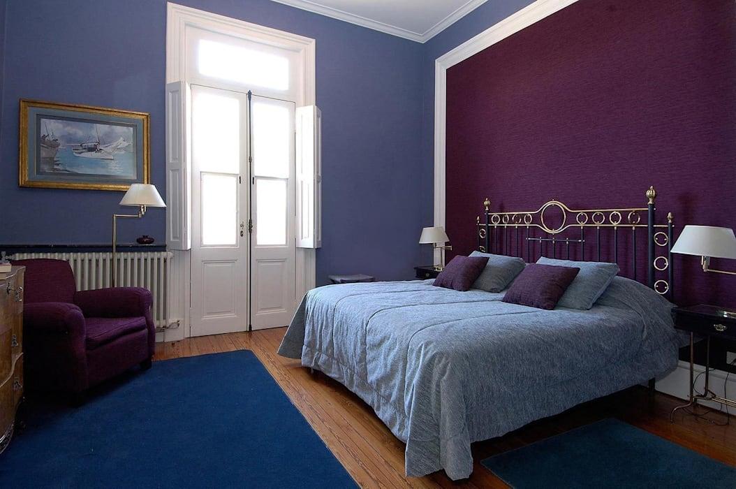 phối màu sơn trong nhà