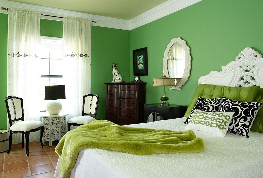 cách phối màu sơn trong nhà