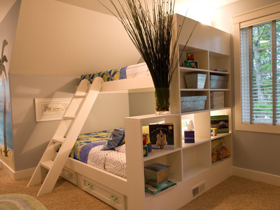 thiết kế phòng ngủ 2 giường