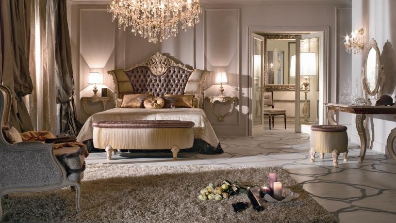 phòng ngủ phong cách cổ điển
