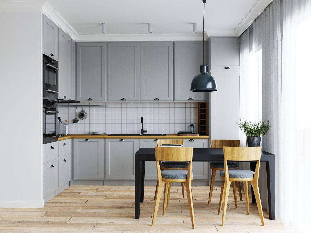 trang trí nhà bếp diện tích nhỏ