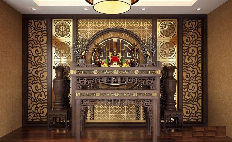 kích thước bàn thờ theo tuổi gia chủ