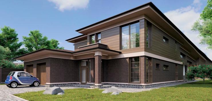 thiết kế nhà 2 tầng 100m2